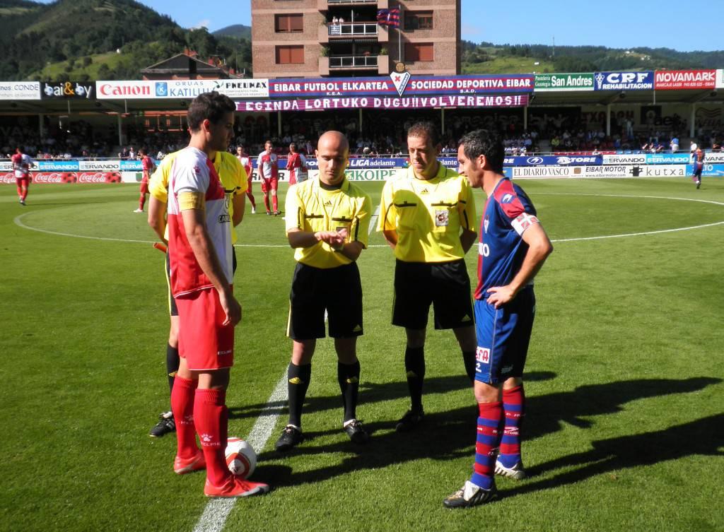 El Sabadell ascendió a Segunda hace hoy tres años en Éibar