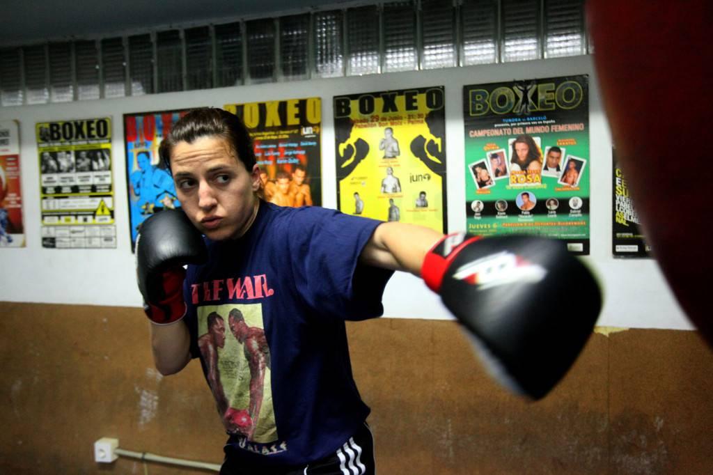 Susana Torres, durante su entrenamiento. / Lorena P. Durany