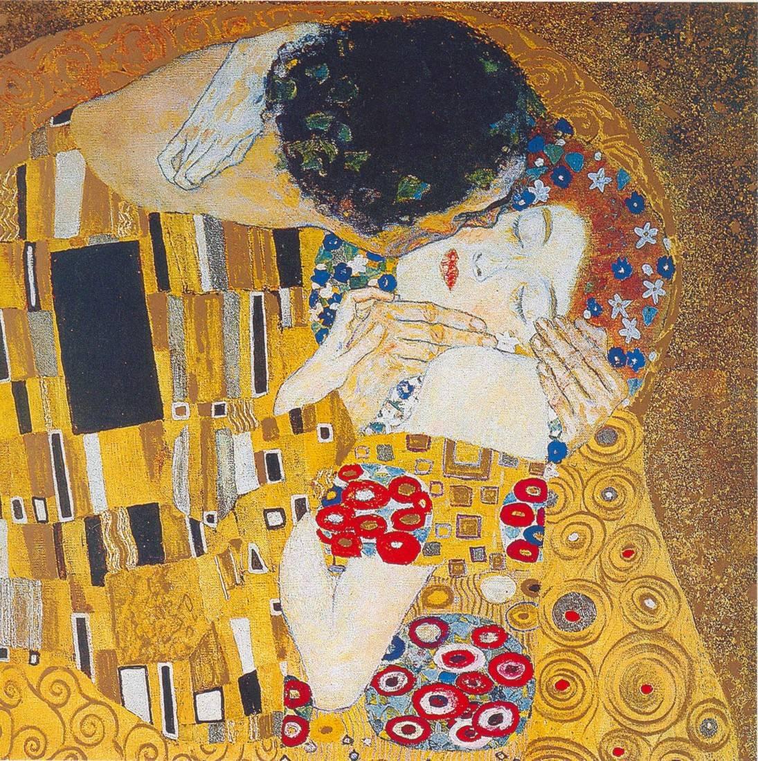 El beso. Klimt