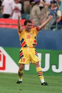 El 'maradona' que triunfó en USA había nacido en los Cárpatos rumanos y se llamaba Hagi.