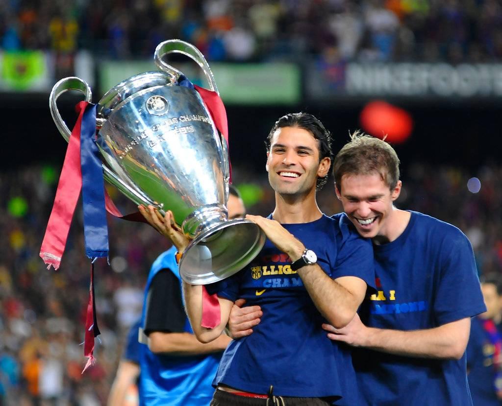 En el Barça, Márquez demostró que estaba hecho para levantar títulos.
