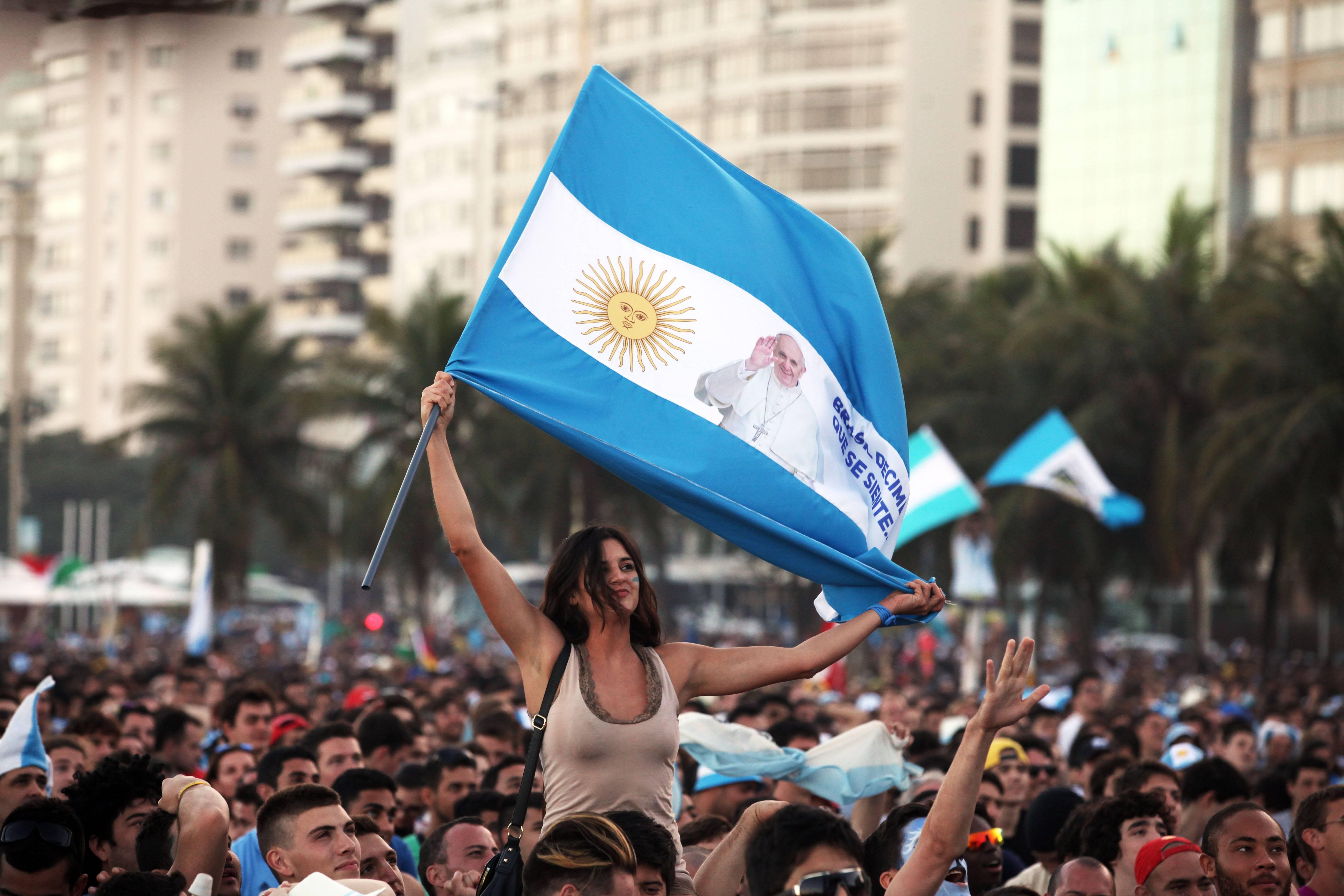 Argentina, decime que se siente