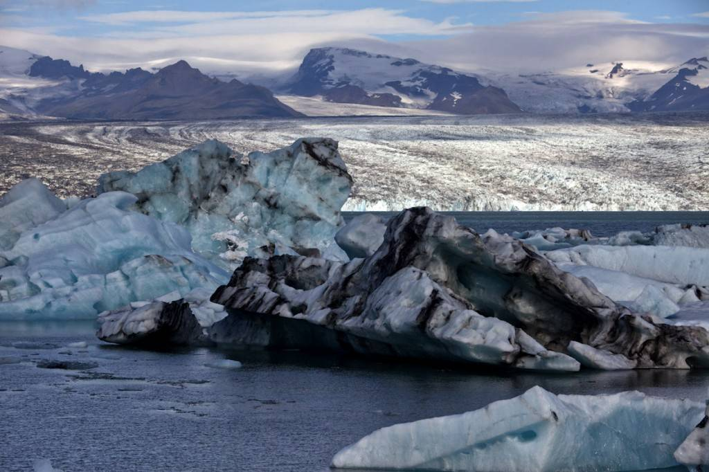 Vatnajokull. Laguna glacial de Jokulsarlon