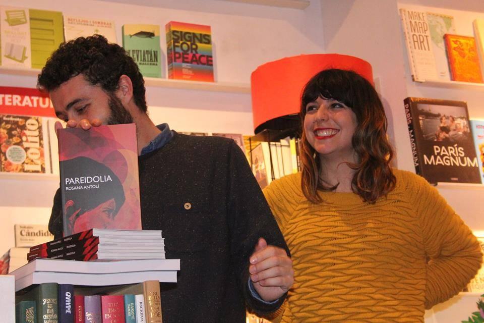 Rosana Antolí y su editor
