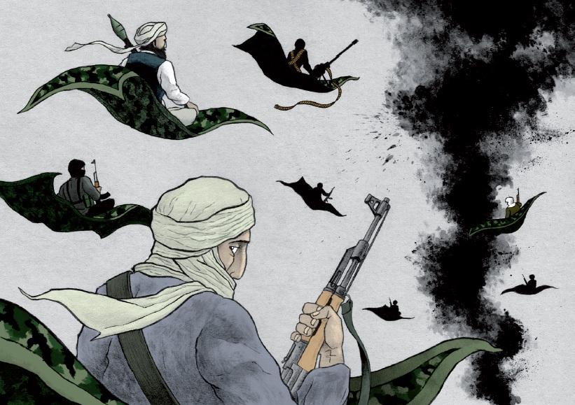Ilustración: Álvaro García www.seisdedos.org